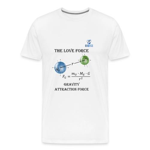 Newton Gravity MuMeG - Maternity T-Shirt - Men's Premium T-Shirt