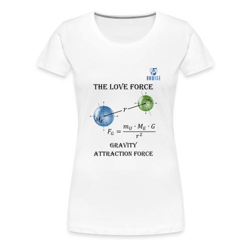 Newton Gravity MuMeG - Maternity T-Shirt - Women's Premium T-Shirt