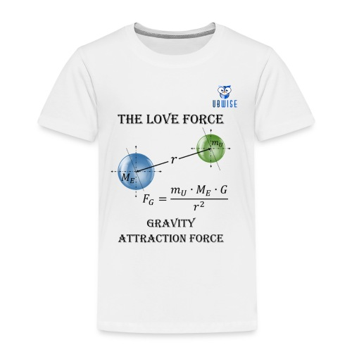 Newton Gravity MuMeG - Maternity T-Shirt - Toddler Premium T-Shirt