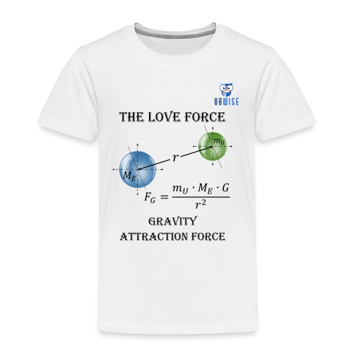 Newton Gravity MuMeG - Maternity T-Shirt - Toddler Premium T-Shirt