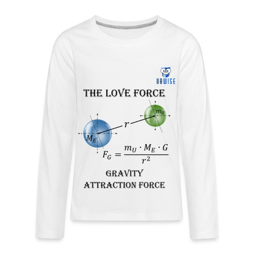 Newton Gravity MuMeG - Maternity T-Shirt - Kids' Premium Long Sleeve T-Shirt