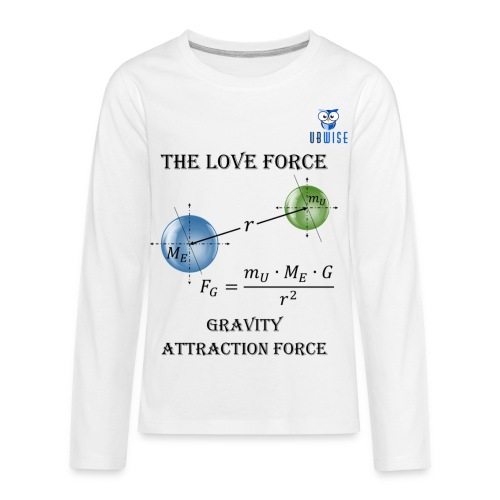 Newton Gravity MuMeG - Maternity T-Shirt - Kids' Premium Long Sleeve T-Shirt