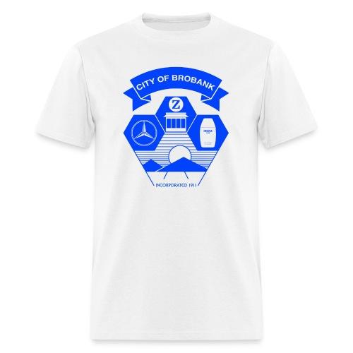City of Brobank Men's Premium T - Men's T-Shirt