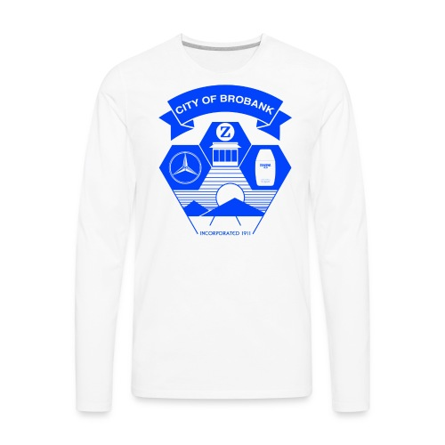 City of Brobank Men's Premium T - Men's Premium Long Sleeve T-Shirt