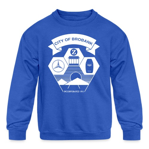 City of Brobank Kid's Premium T - Kids' Crewneck Sweatshirt