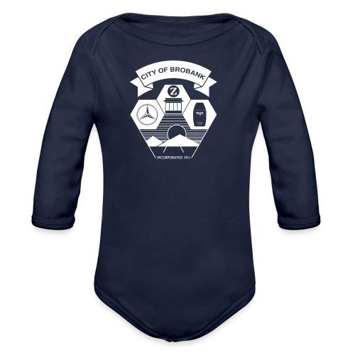 City of Brobank Kid's Premium T - Organic Long Sleeve Baby Bodysuit