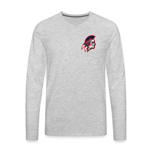 Mascot F - Men's Premium Long Sleeve T-Shirt