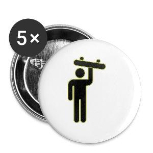 SkateMan Mug! - Small Buttons