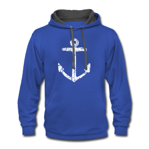 Anchor Vintage T-Shirt - Contrast Hoodie