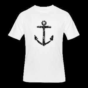 Anchor Vintage T-Shirt - Men's 50/50 T-Shirt