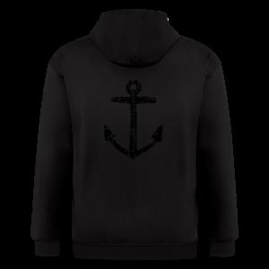 Anchor Vintage T-Shirt - Men's Zip Hoodie