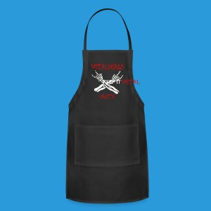 Women's Metalheads unite+keep it metal Hoodie - Adjustable Apron