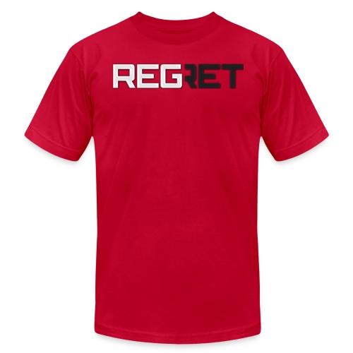 Regret Hoddie - Men's Fine Jersey T-Shirt