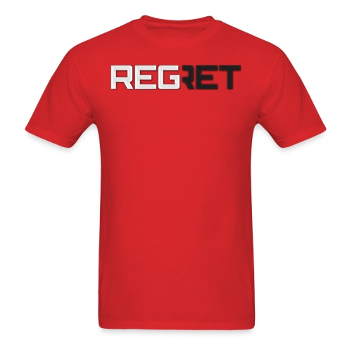 Regret Hoddie - Men's T-Shirt