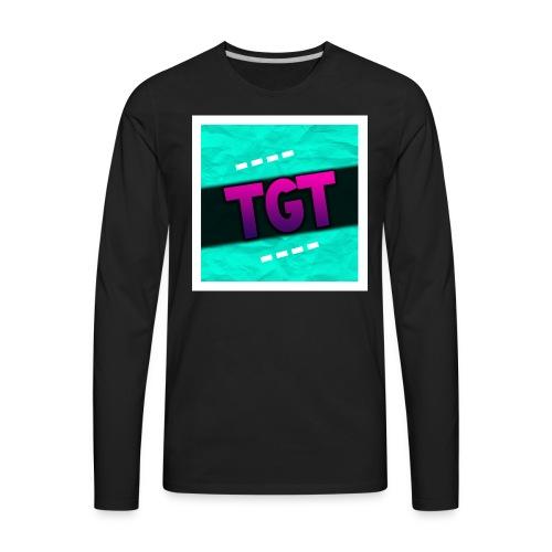 TheGamingTool Neon Channel Pic Shirt - Men's Premium Long Sleeve T-Shirt