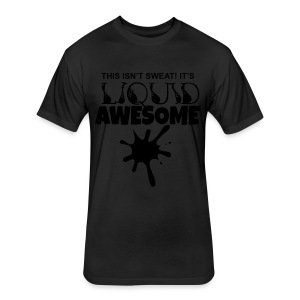 Mens Liquid Awesome Tee - Fitted Cotton/Poly T-Shirt by Next Level