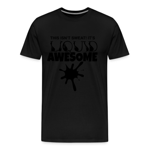 Mens Liquid Awesome Tee - Men's Premium T-Shirt