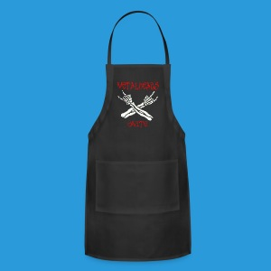 Men's Metalheads unite+keep it metal T-shirt - Adjustable Apron