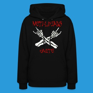 Men's Metalheads unite+keep it metal T-shirt - Women's Hoodie