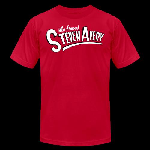 Who Framed Steven Avery - Men's  Jersey T-Shirt