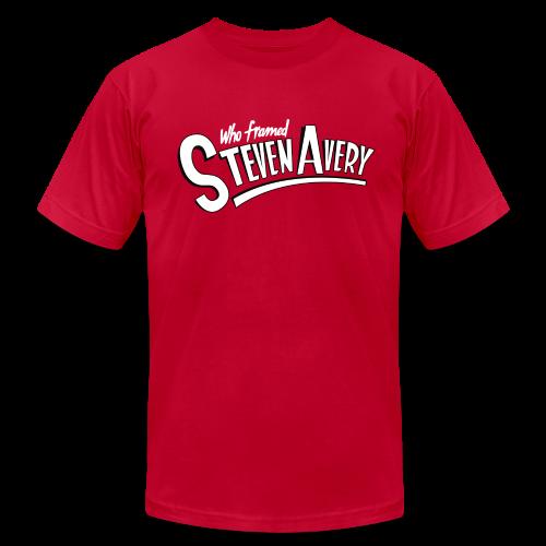 Who Framed Steven Avery - Men's Fine Jersey T-Shirt