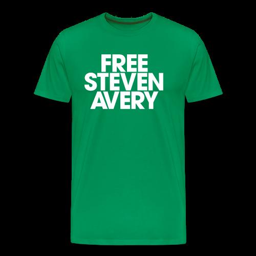 Free Steven Avery - Men's Premium T-Shirt