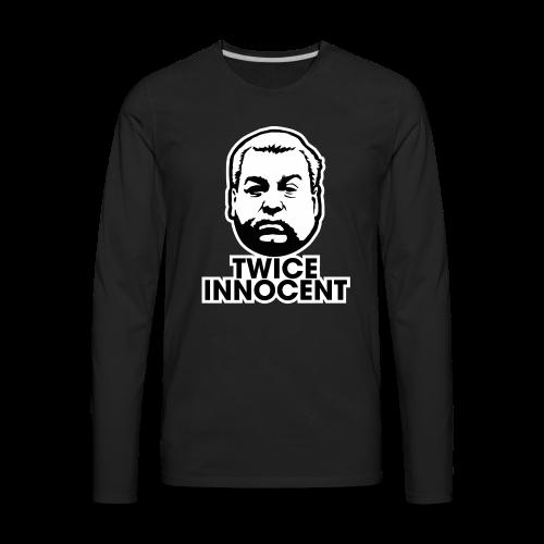 Steven Avery - Twice Innocent - Men's Premium Long Sleeve T-Shirt