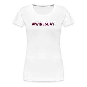 WINESDAY - Women's Premium T-Shirt