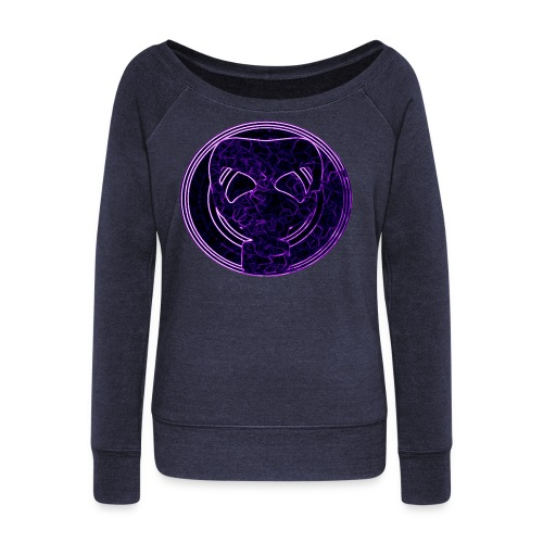 Woman's PG Gasmask Logo Shirt - Women's Wideneck Sweatshirt