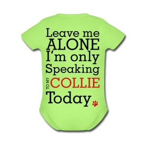 Leave Me Alone - Mens Big & Tall T-shirt - Short Sleeve Baby Bodysuit