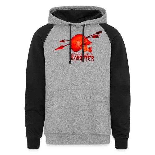 Women's Sweetheart's Slaughter T - Colorblock Hoodie