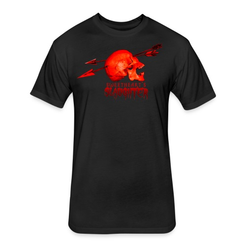 Women's Sweetheart's Slaughter T - Fitted Cotton/Poly T-Shirt by Next Level