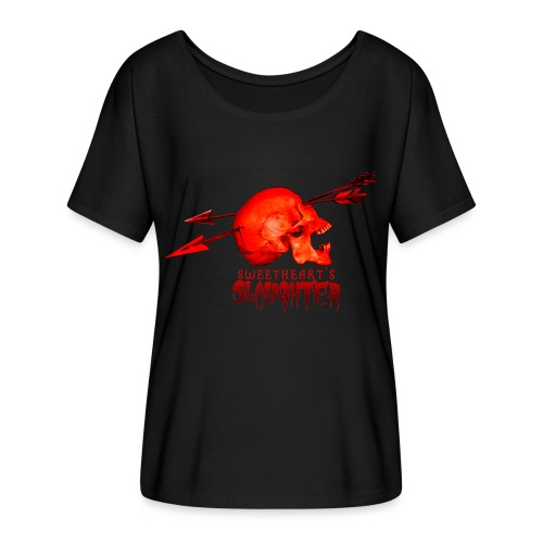 Women's Sweetheart's Slaughter T - Women's Flowy T-Shirt