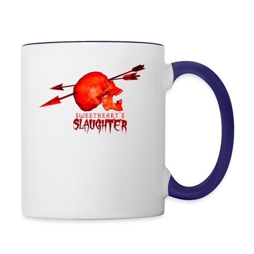 Women's Sweetheart's Slaughter T - Contrast Coffee Mug