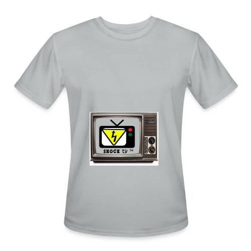 SHOCK TV SWEATER - Men's Moisture Wicking Performance T-Shirt