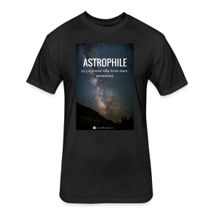 Astrophile Tee - Fitted Cotton/Poly T-Shirt by Next Level