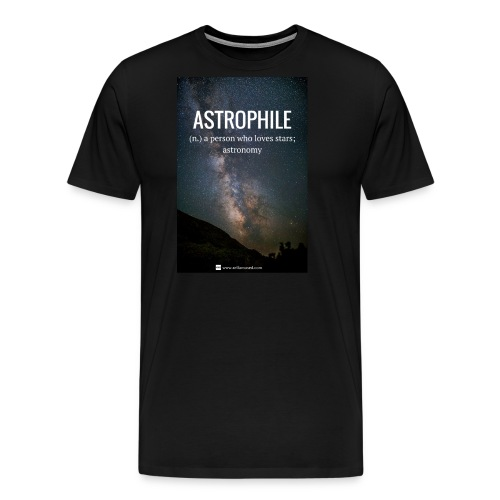 Astrophile Tee - Men's Premium T-Shirt