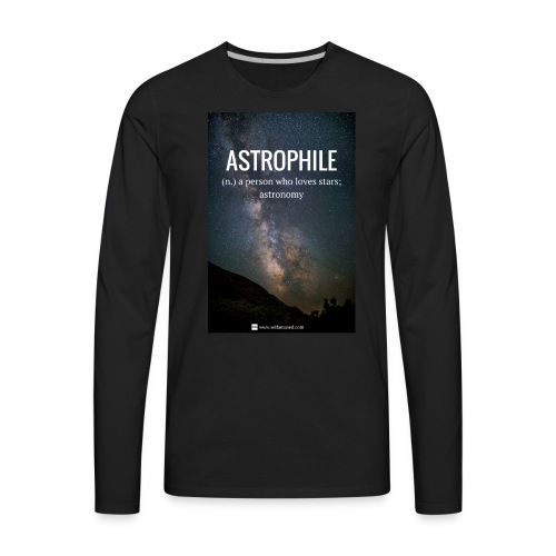 Astrophile Tee - Men's Premium Long Sleeve T-Shirt