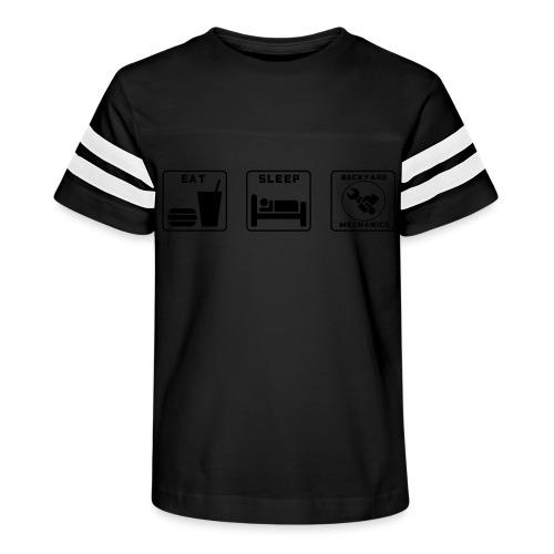 Mens EAT SLEEP BM spanner logo - Kid's Vintage Sport T-Shirt