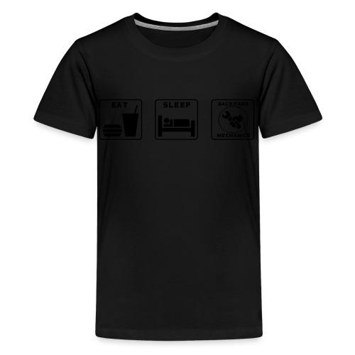 Mens EAT SLEEP BM spanner logo - Kids' Premium T-Shirt