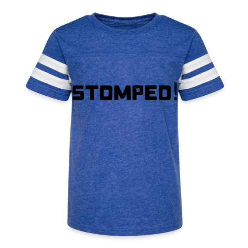 Mens STOMPED! White - Kid's Vintage Sport T-Shirt