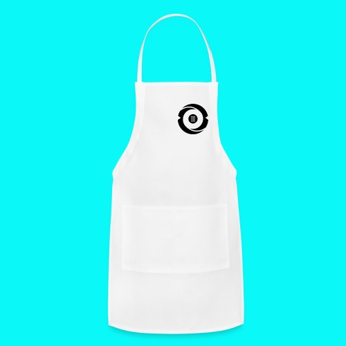 Women's White Short Sleeve - Adjustable Apron