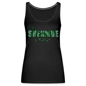 Shenmue Leaf Shirt (Men's) - Women's Premium Tank Top