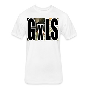 G X LS TEE - Fitted Cotton/Poly T-Shirt by Next Level