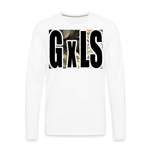 G X LS TEE - Men's Premium Long Sleeve T-Shirt