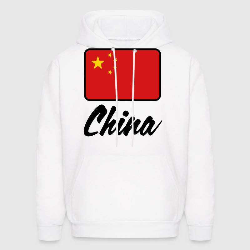 National Flag of China Hoodies - Men's Hoodie