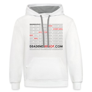 Women's DEHH King of Rap - Contrast Hoodie