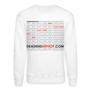 Women's DEHH King of Rap - Crewneck Sweatshirt