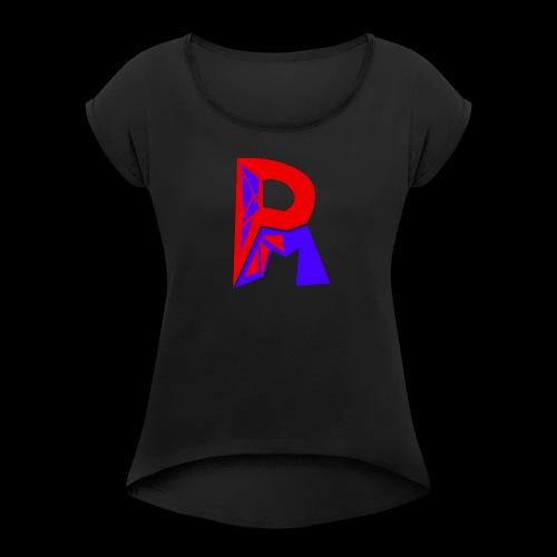 PuipinM T-Shirt - Women's Roll Cuff T-Shirt