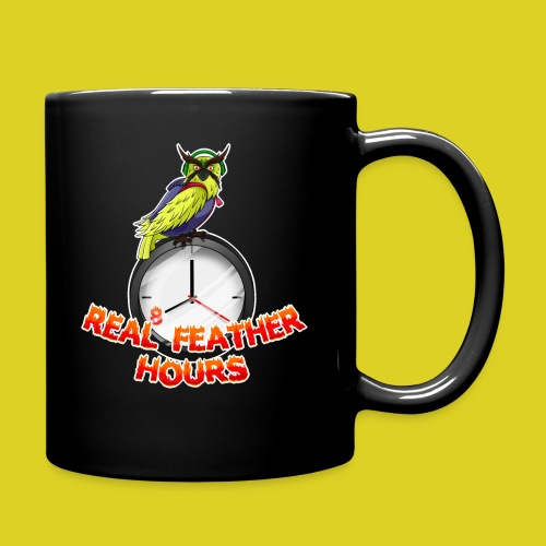 Real Feather Hours Dog Bandana - Full Color Mug